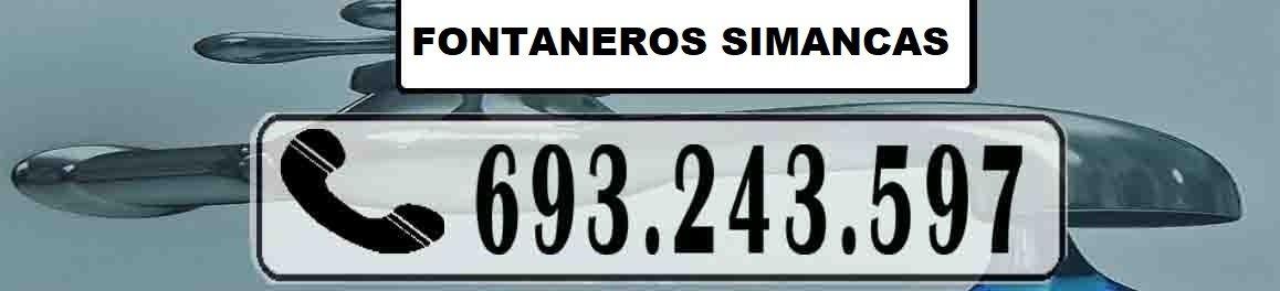 Fontaneros Simancas Madrid Urgentes